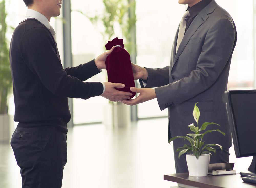 presentear clientes