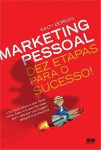 Capa do Livro Marketing Pessoal 10 etapas para o sucesso