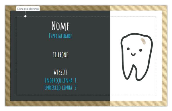 Cartão Odontologia Infantil