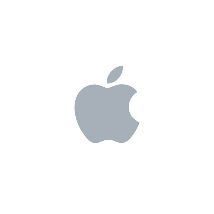 Apple Logo Branco