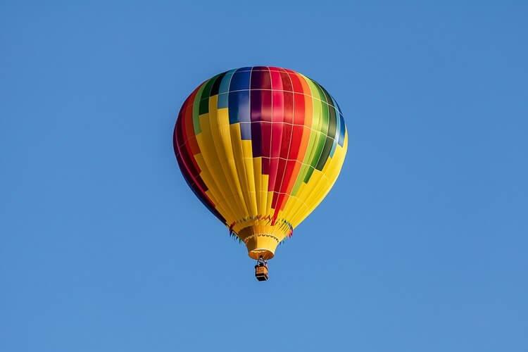 Balão de cores