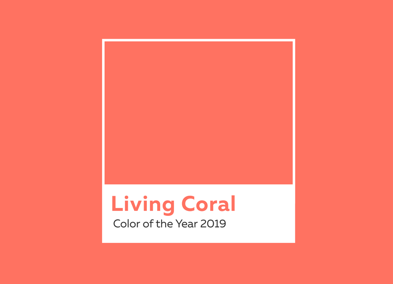 Cor do Ano de 2019: Living Coral