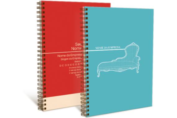 Caderno e Agenda Personalizado