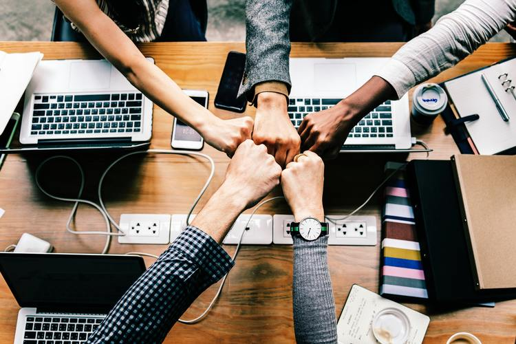 intraempreendedorismo entre colegas de trabalho