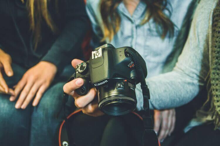 Trabalho de Fotógrafos