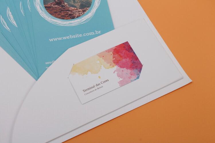 Material impresso personalizado