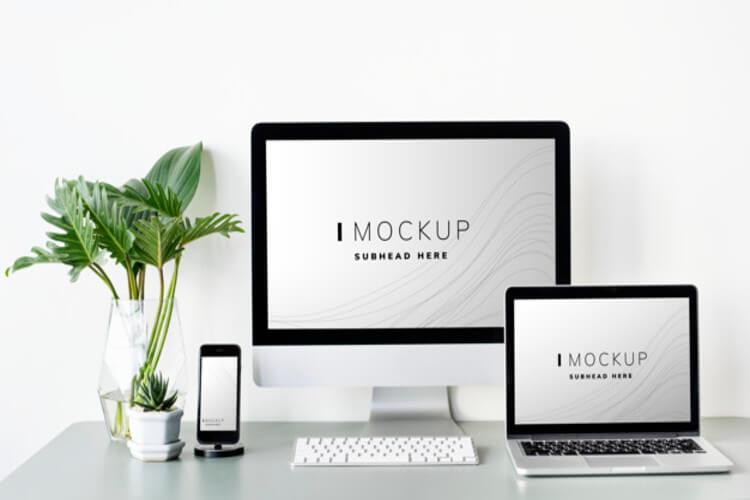 Mockup para empresa