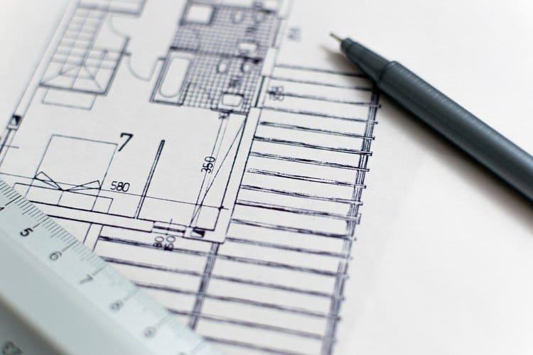 Planta de casa feito por arquiteto